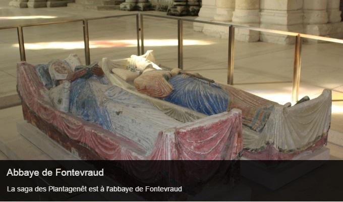 Cliquez sur l'image pour accéder à la fiche sortie de l'abbaye de Fontevraud