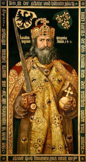 L'empereur Charlemagne par Albrecht Durer