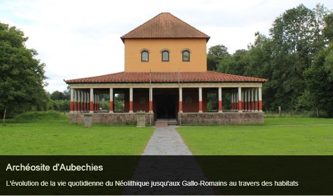 Cliquez sur l'image pour accéder à la fiche sortie de l'archéosite d'Aubechies
