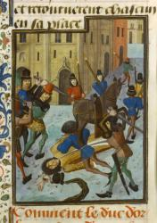 Assassinat de Louis d'Orléans à Paris le 23 novembre 1407