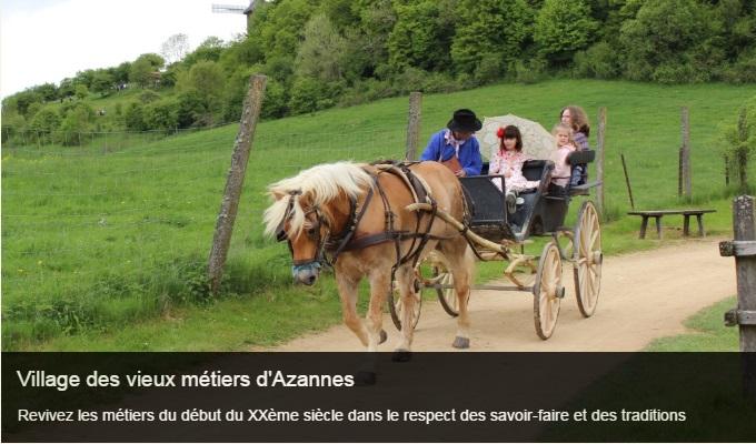 Cliquez sur l'image pour accéder à la fiche sortie du village des vieux métiers d'Azannes