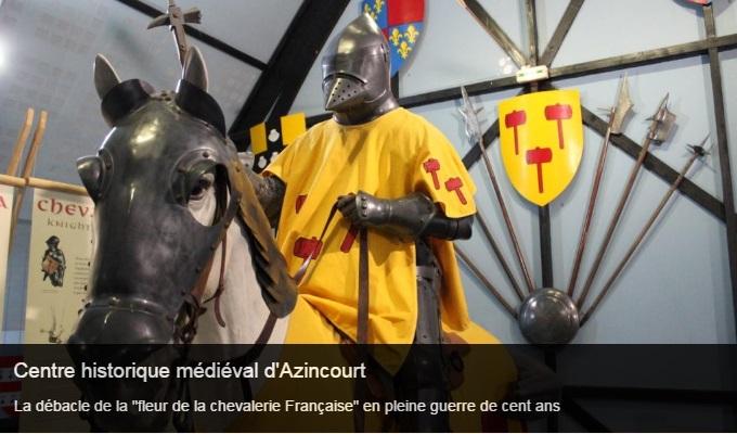 Cliquez sur l'image pour accéder à la fiche sortie du centre historique médiéval d'Azincourt