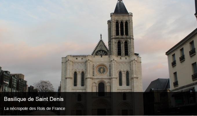 Cliquez sur l'image pour accéder à la fiche sortie de la basilique de Saint Denis