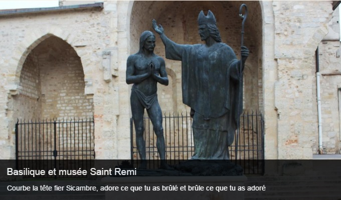 Cliquez sur l'image pour accéder à la fiche sortie de la basilique et du musée Saint Remi