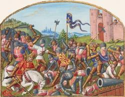 Bataille de Castillon - 1453 - Fin de la guerre de cent ans