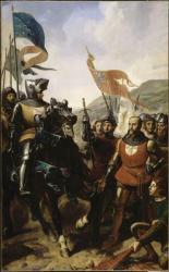 Bataille de Cocherel - 16 mai 1364 - Jean de Grailly se rend à Bertrand du Guesclin par Charles-Philippe Lariviere