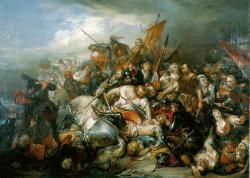 Bataille de Courtrai dite bataille des éperons d'or - 11 juillet 1302 - Victoire Flamande - Nicaise de Keyser