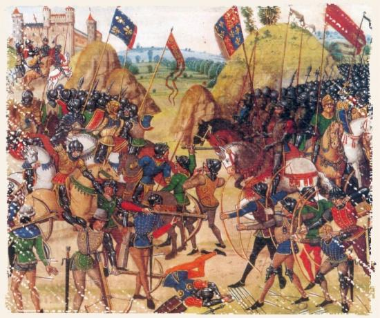 Bataille de Crécy - 26 août 1346