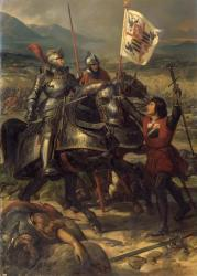 Bataille de Fornoue - Eloi Firmin Féron