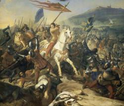 Bataille de Mons en Pévèle - 18 août 1304 - Victoire Française - Charles Philippe Larivière