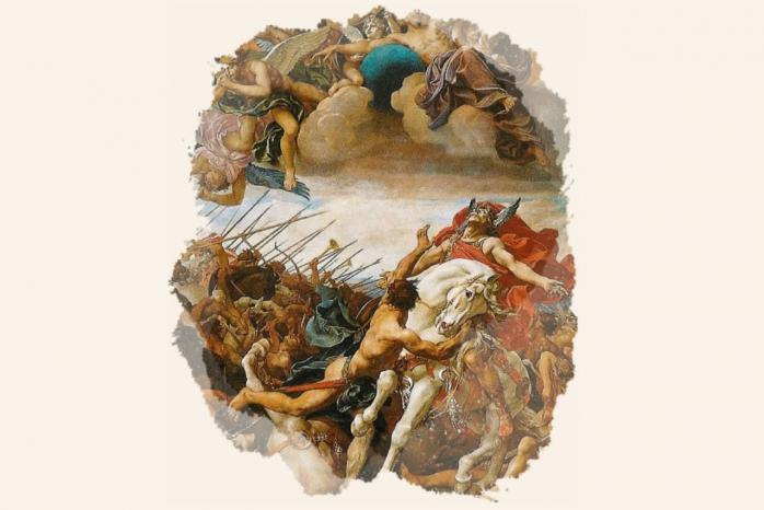 Bataille de Tolbiac - Paul-Joseph Blanc