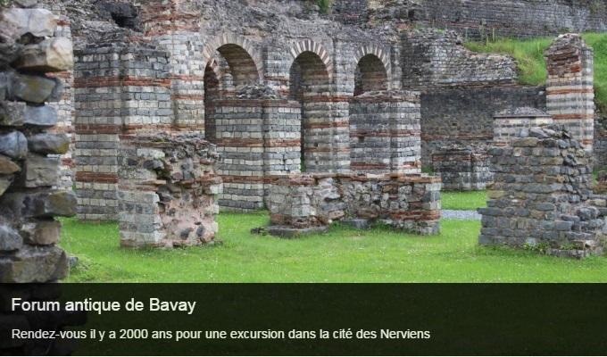 Cliquez sur l'image pour accéder à la fiche sortie du forum antique de Bavay