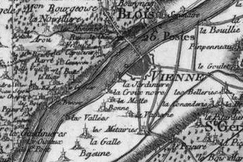 Pour localiser le château Royal de Blois, cliquez sur la carte