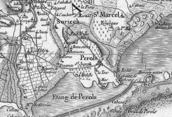 Pour localiser le site archéologique Lattara, Musée Henri Prades, cliquez sur la carte