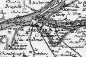 Pour localiser le château d'Amboise, cliquez sur la carte