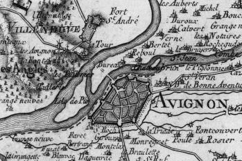 Pour localiser le palais des papes d'Avignon, cliquez sur la carte