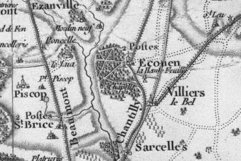 Pour localiser le château d'Ecouen, cliquez sur la carte
