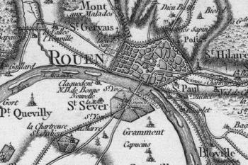 Pour localiser l'historial Jeanne d'Arc, cliquez sur la carte