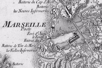 Pour localiser le musée d'histoire de Marseille, cliquez sur la carte