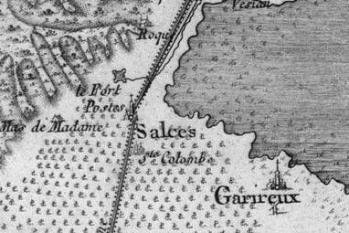 Pour localiser la forteresse de Salses, cliquez sur la carte