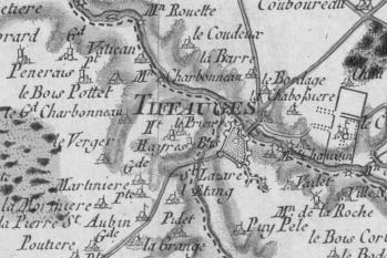 Pour localiser le château de Tiffauges, cliquez sur la carte