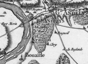 Pour localiser Château Gaillard, cliquez sur la carte