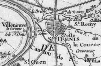 Pour localiser la Basilique de Saint Denis, cliquez sur la carte