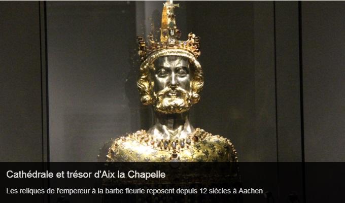 Cliquez sur l'image pour accéder à la fiche sortie de la cathédrale et du trésor d'Aix la Chapelle