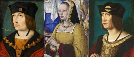 Charles VIII, Anne de Bretagne et Louis XII