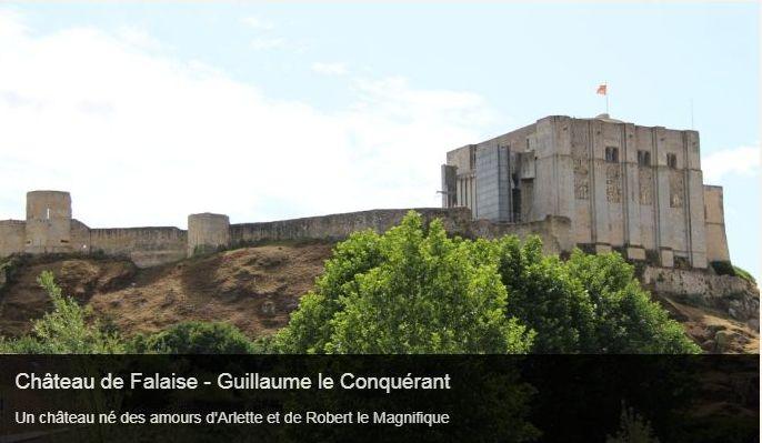 Cliquez sur l'image pour accéder à la fiche sortie du château de Falaise
