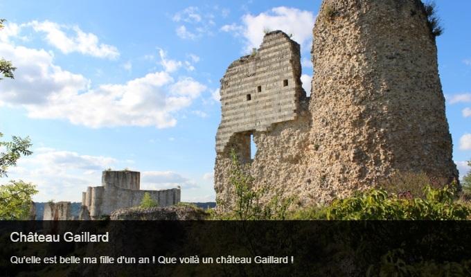 Cliquez sur l'image pour accéder à la fiche sortie de Château Gaillard