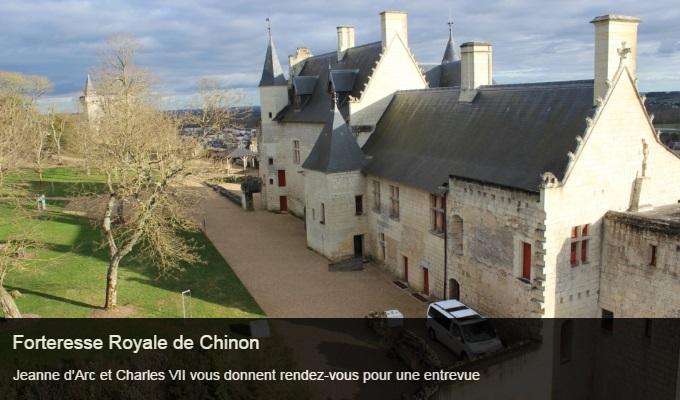 Cliquez sur l'image pour accéder à la fiche sortie de la forteresse royale de Chinon
