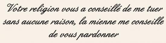 Le duc François de Guise s'adressant à un homme qui avait pour projet de l'assassiner
