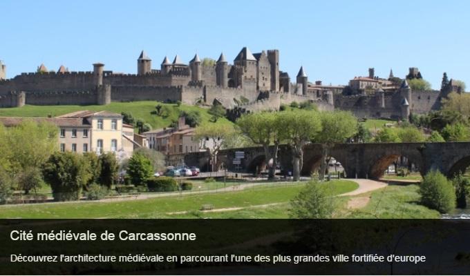 Cliquez sur l'image pour accéder à la fiche sortie de la cité médiévale de Carcassonne