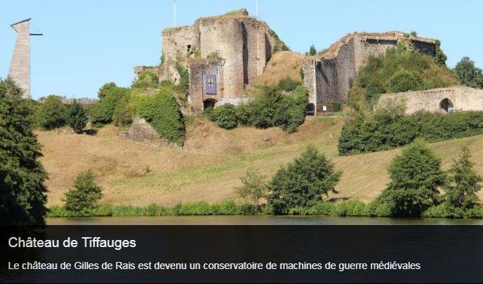 Cliquez sur l'image pour accéder a la fiche sortie du château de Tiffauges