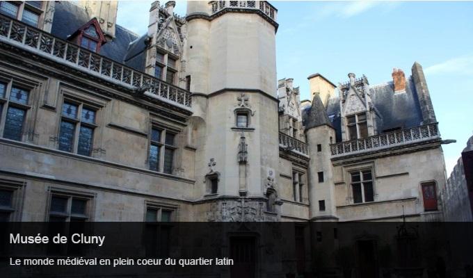 Cliquez sur l'image pour accéder à la fiche sortie du musée de Cluny