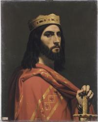 Dagobert Ier (règne de 629 à 639) - Roi d'Austrasie, de Neustrie et de Bourgogne par Emile Signol