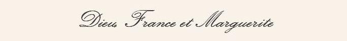 Dieu, France et Marguerite