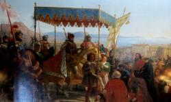 Entrée de Charles VIII en 1495 - Eloi Firmin Féron