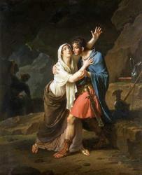 Eponine et Sabinus par Nicolas-André Monsiau