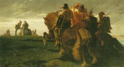 Evariste Vital Luminais - Gaulois en vue de Rome