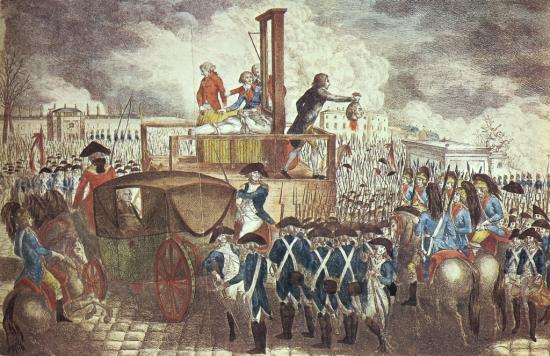 Exécution de Louis XVI      (21 janvier 1793)