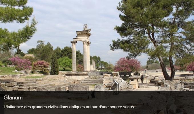 Cliquez sur l'image pour accéder à la fiche sortie du site archéologique de Glanum