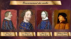 Gouvernement des oncles de Charles VI