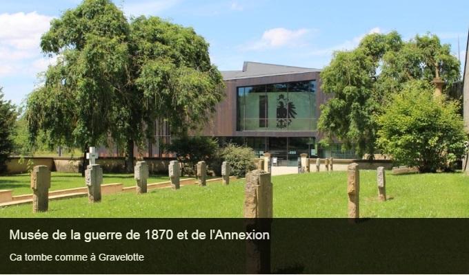 Cliquez sur l'image pour accéder à la fiche sortie du musée de la guerre de 1870 et de l'Annexion de Gravelotte