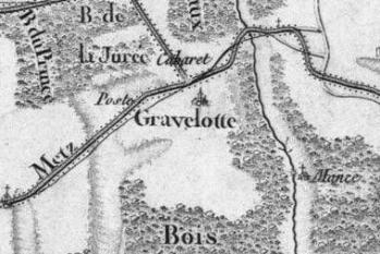 Pour localiser le musée de la guerre de 1870 et de l'annexion de Gravelotte, cliquez sur la carte