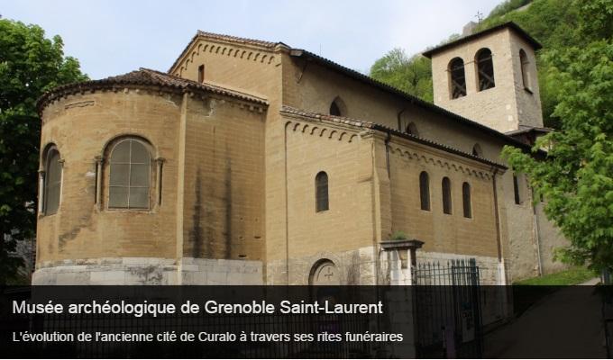 Cliquez sur l'image pour accéder à la fiche sortie du musée archéologique de Grenoble Saint-Laurent