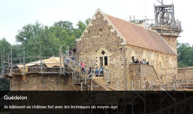 Cliquez sur l'image pour accéder à la fiche sortie du château de Guédelon