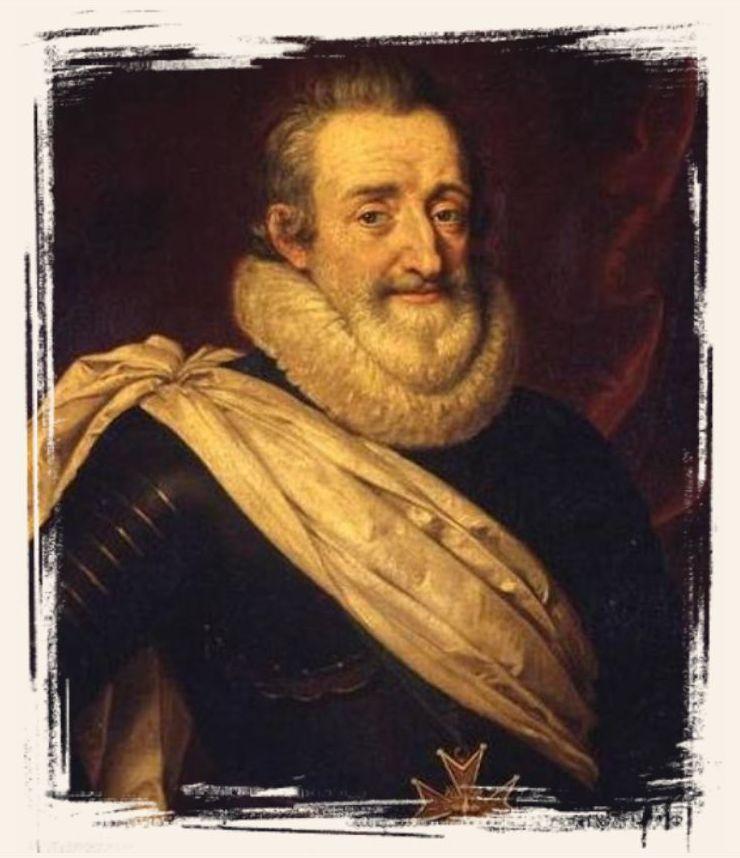 Henri IV - Roi de France de 1589 à 1610