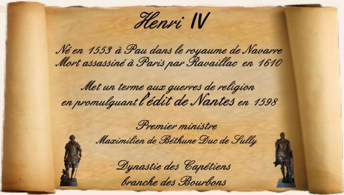 Henri IV Roi de France